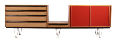 Alfred Altherr, Sideboard, datier 1957, Design